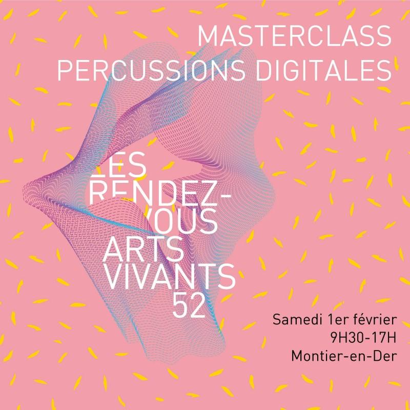 Masterclass Percussions digitales